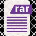 Rar Format Formats Icon