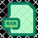 File Rar Format Icon