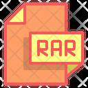 Rar File Format File Icon