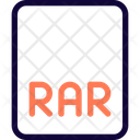 Rar File File Rar Icon