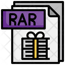 Rar File File Folder Icon