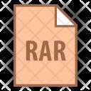 Rar Extension Type Icon