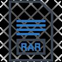 Rar Document File Icon