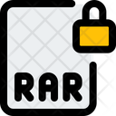 Rar File Lock File Lock Lock Icon