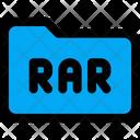 Rar Folder Folder Zip Folder Icon