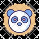 Rare Animals Panda Bear Icon