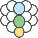 Raspberries Grapes Bunch Icon