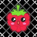 Raspberry Happy Berry Icon