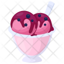 Raspberry Gelato Yogurt Icon