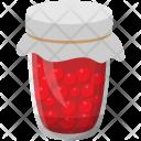 Raspberry Jar Preserved Icon