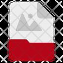 Raster graphic file Icon