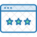 Star Rate Rating Icon