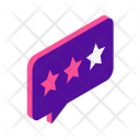 Feedback Review Ratings Icon