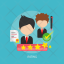 Rating Star Success Icon