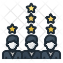 Rating Star Ranking Icon