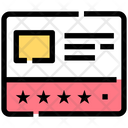 Layout Rating Post Icon