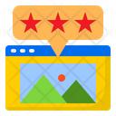 Rating Star Favorite Icon