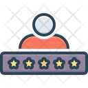 Rating Ranks Satisfaction Icon