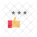 Rating Feedback Voting Icon