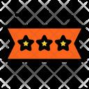Rating Star Rank Icon