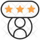 Rating Content Website Icon