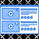 Rating Website Film Icon