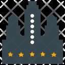 Hotel Restaurant Rating Icon