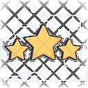 Ratings Stars Ranking Icon