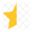 Star Half Ratings Icon