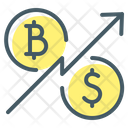 Bitcoin Cryptocurrency Dollar Icon