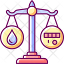Rational Water Consumption Icon