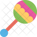 Baby Rattle Toy Icon