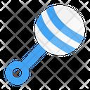 Rattle Toy Shake Icon