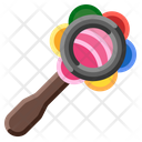 Rattle Baby Toy Icon