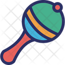 Rattle Instrument Maraca Icon