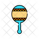 Rattle Child Toy Icon