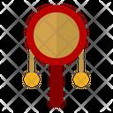 Rattle Drum Music Instrument Cultures Icon