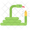 Rattlesnake Snake Desert Icon