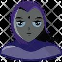 Raven Titans Cyborg Icon