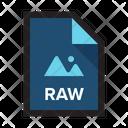 Raw Photo Image Icon