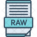 Raw Curve Data Icon