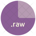 Raw File Format Icon
