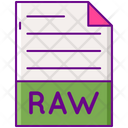 Raw data Icon