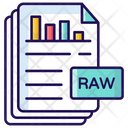 Raw Data Files Reports Icon