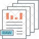 Mraw Data Icon