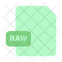 File Raw Document Icon
