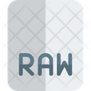 Raw File Raw File Format Icon