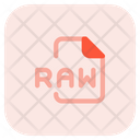 Raw File Icon