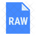 Raw File Extension Icon