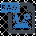 Photo Image Raw Icon